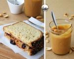 foto panino americano con arachidi