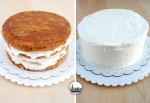 farcire una torta con panna