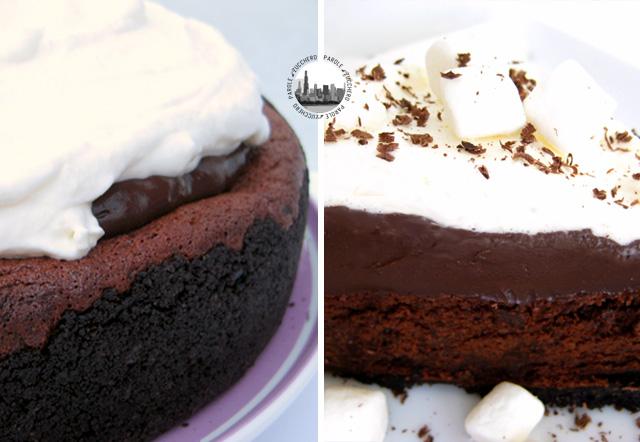crostata cioccolato e budino