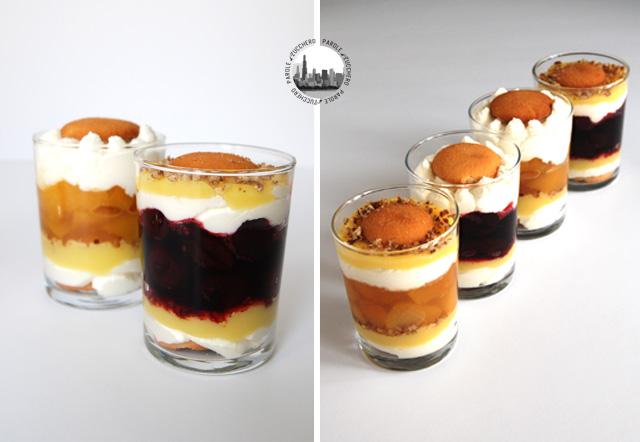 Dessert cremoso.