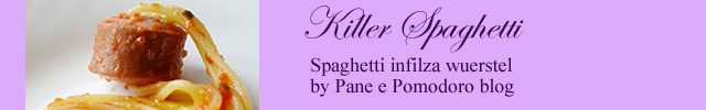 spaghetti per halloween