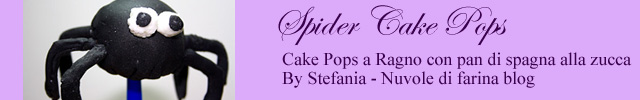 foto ragno cake pop
