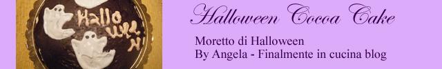 dolce moretto di halloween