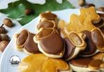 biscotti a forma di foglie