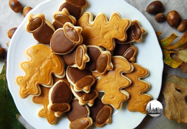 biscotti a forma di ghianda