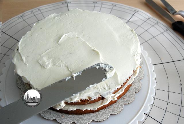 foto buttercream sul secondo strato