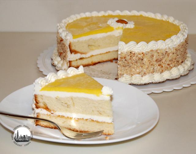 foto fetta torta decorata