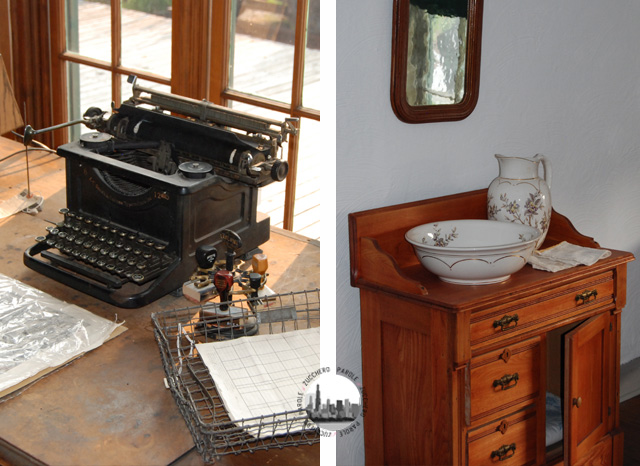 Foto vecchia macchina da scrivere