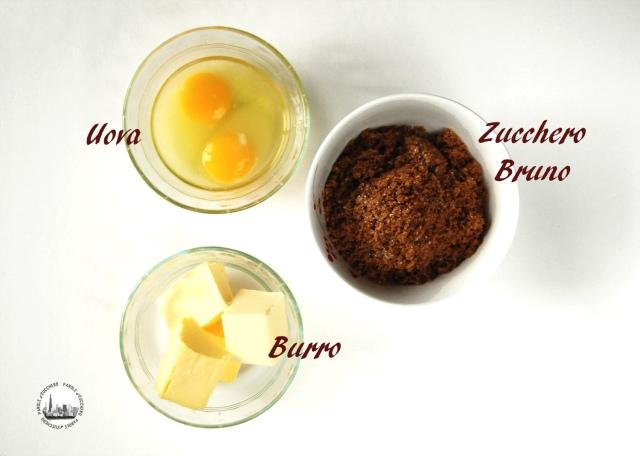 Uova, Zucchero Bruno e Burro