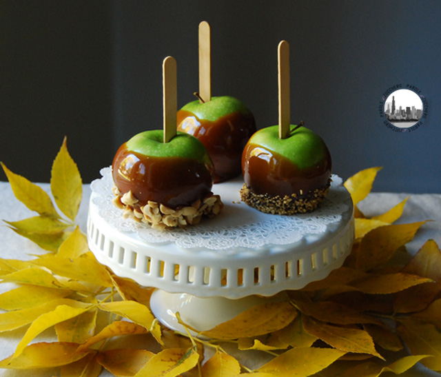 Foto Tre mele caramellate