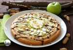 foto pizza dolce con frosting