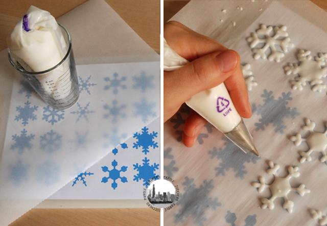 Fiocchi Di Neve Di Carta Da Ritagliare Tutorial : Tutorial di base consistenza ghiaccia reale pressione su sac a