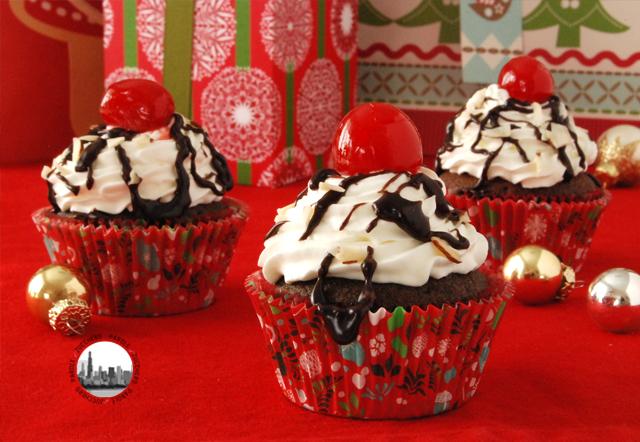 cupcake cioccolato e panna