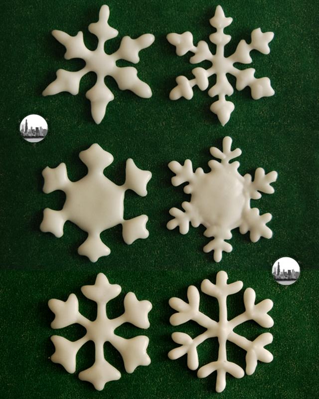 dettaglio fiocchi di neve