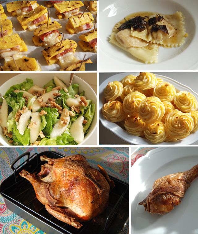 menu di thanksgiving