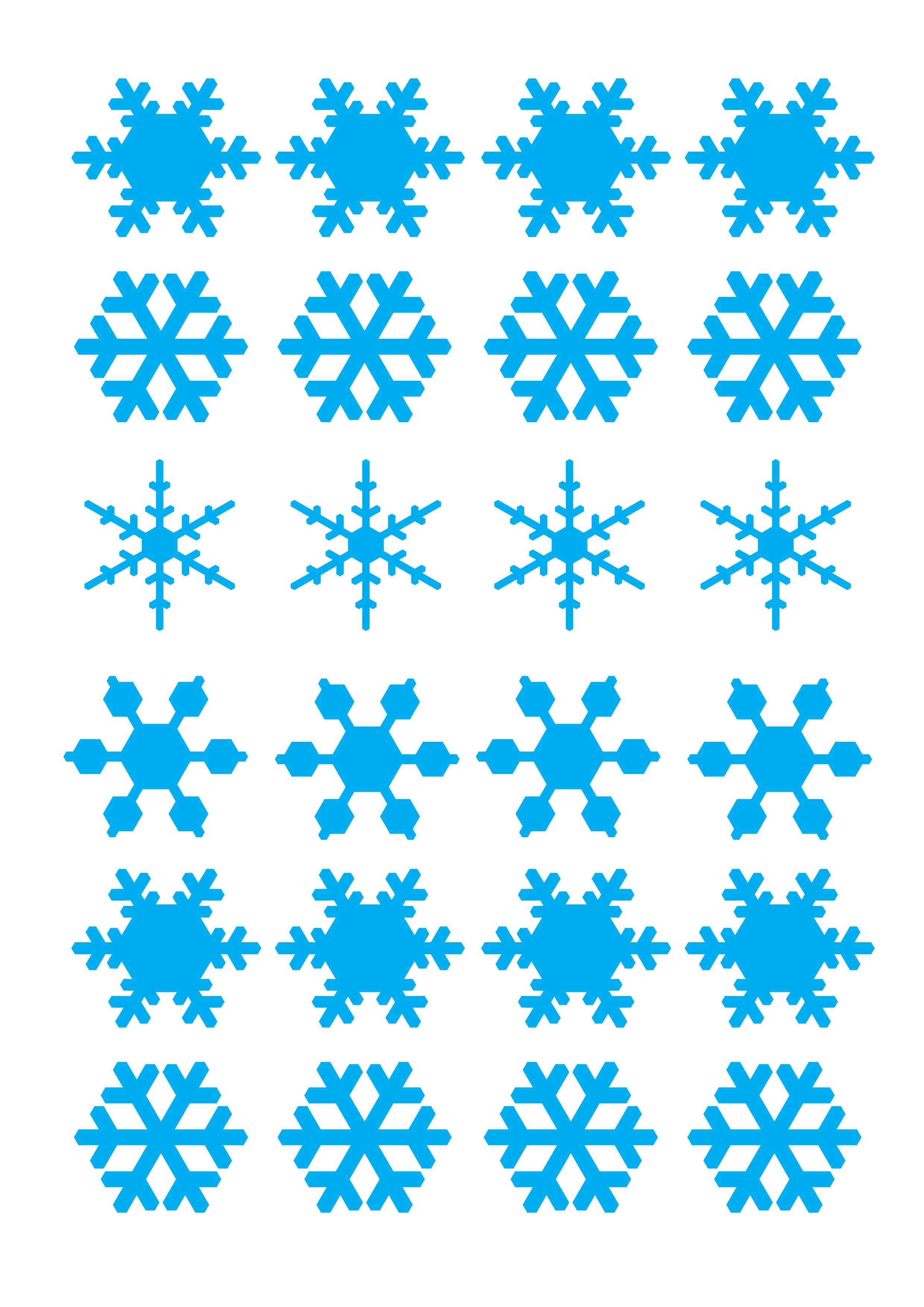 Tutorial di base consistenza ghiaccia reale pressione su for Fiocco di neve da ritagliare