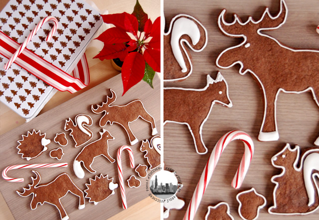 biscotti a forma di animali