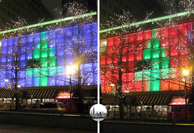 edifici natalizi chicago