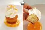 cupcakes yogurt e mandarino