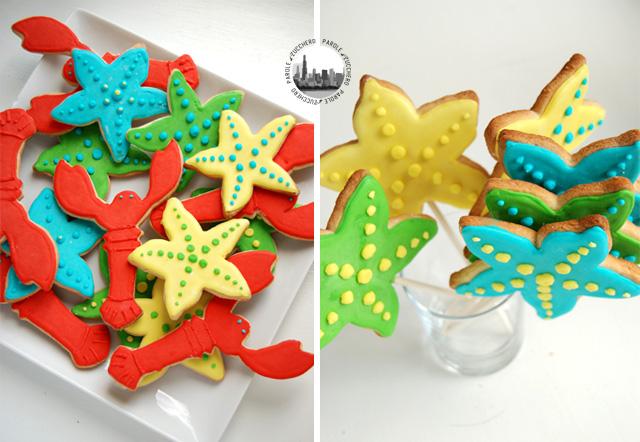 biscotti a forma di aragosta