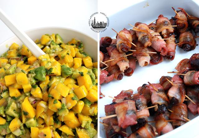 insalata avocado e mango